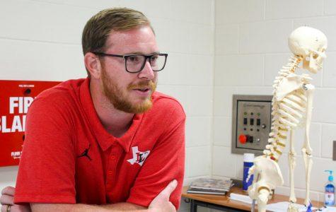 Physics teacher, coach Matthew Cannon