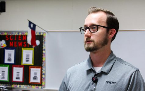 Biology teacher Matthew Schmidt