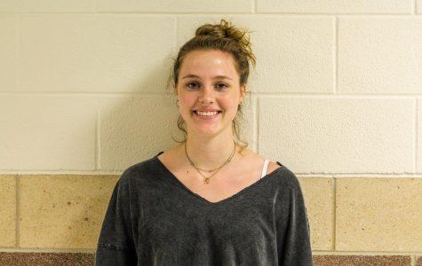 Senior Megan Diercks