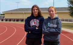 Seniors Madison Cinek and Jessica Rockenbach are currently in training for a marathon. They will be running the marathon on December 10.