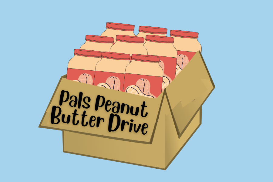 The PALS program is trying to help North Texas Food Bank in raising 300,000 lbs of peanut butter. Last year, the North Texas Food Bank collected 287,000 lbs of peanut butter, a 49% increase from the previous year.