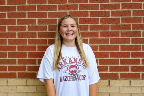 Junior Avery Wall is an athletic trainer. FCA has impacted us to have the same community at school as we do on Monday nights. It's easy to try to fit in and not stand out for our beliefs, but I think the community we build makes it a lot easier to stick together at school.