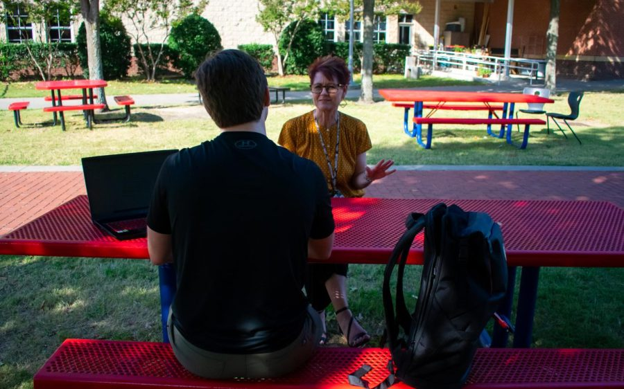 TRL's Mathias Alling interviews assistant principal Teresa Dodson. Dodson talked about lessons learned from the pandemic.