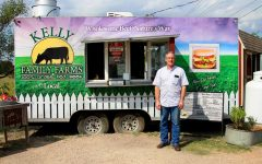 Kelly Family Farms co-owner Chris Kelly started the burger place with his brother. The Kellys have run their business off of Lucas Road.