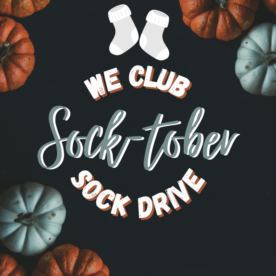 Socktober is a month long donation drive hosted by the WE club. Kiah Pandy started the WE club in Lovejoy after joining in California.