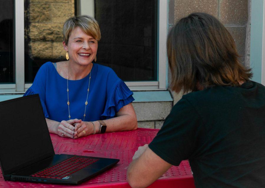 TRL's Mathias Alling interviews superintendent Katie Kordel. Kordel talked about her experience as an educator.